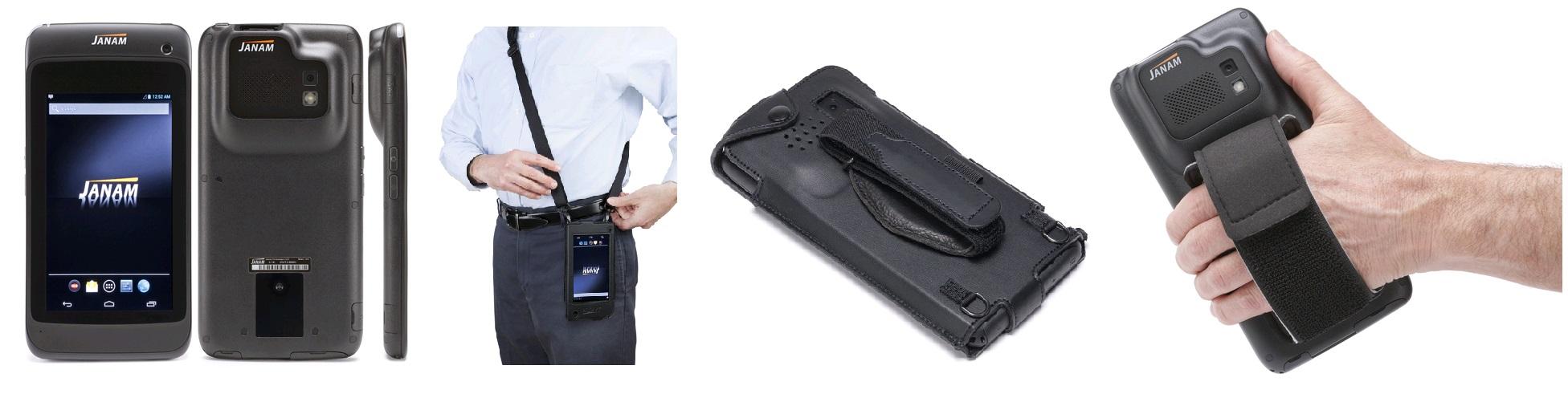 Легкий, защищенный, ударопрочный планшет JANAM XT-1 с дисплеем 5,9 дюймов